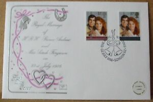 1986 Cotswold GB First Day Cover with Special Postmark   Royal Wedding - Cambridge, United Kingdom - 1986 Cotswold GB First Day Cover with Special Postmark   Royal Wedding - Cambridge, United Kingdom
