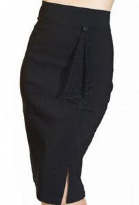 62729440fe Image is loading Cigarette-SKIRT-Sarina-Wiggle-skirt-Rockabilly-Skirt-1950s-