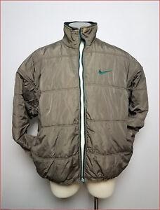 102a0108409d NIKE Men s Vintage 90 s Reversible Puffer Jacket Big Swoosh Green XL ...