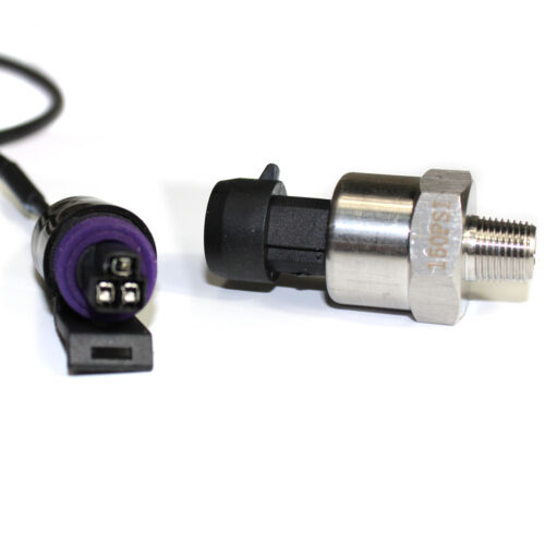 """0-150PSI 1//8""""-27 NPT Input Pressure Transducer Sensor For Oil Fuel Water Air USA"""