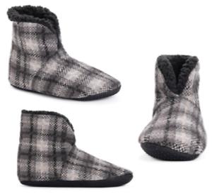 Muk-Luks-Men-039-s-Faux-Fur-Lined-Short-Slipper-Boots-Size-11-13-NWT