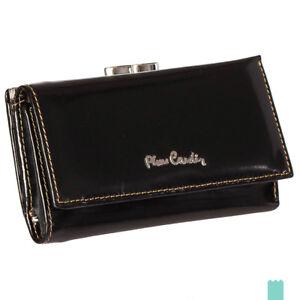 Pierre Cardin 457 PSP520 Smooth Genuine Leather Popper Flap Long Clutch Wallet