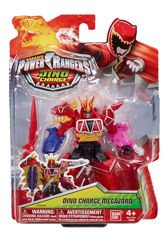 Bandai Power Power Power Rangers Dino Super Charge Megazord 12cm Figure Brand New 03e303