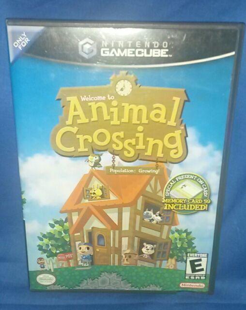 Animal Crossing (Nintendo GameCube, 2002) Disc And Case