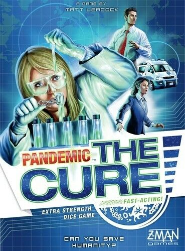 Pandemic The Cure Board Game - Find the cure & save the world from plagues.