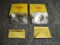 Ford Falcon 1962 Parking Light Lamp Lens Clear Nice