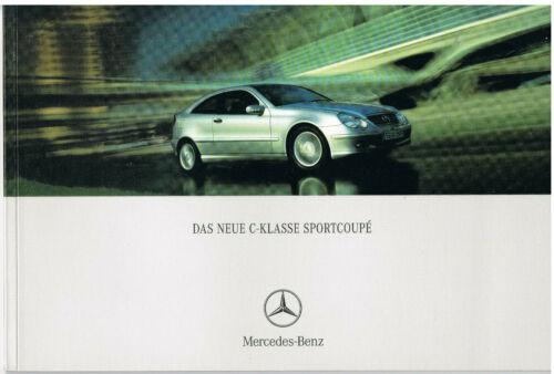 Prospetto MERCEDES CLASSE C Sport Coupé CL 203 02//01 2001