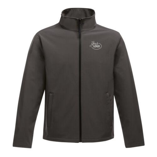 Regatta Ablaze Soft Shell Jacket-Charcoal-Black-S
