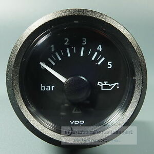 VDO-OLDRUCKANZER-OEL-DRUCKANZEIGER-OIL-PRESSURE-GAUGE-5bar-12V-24V-schwarz
