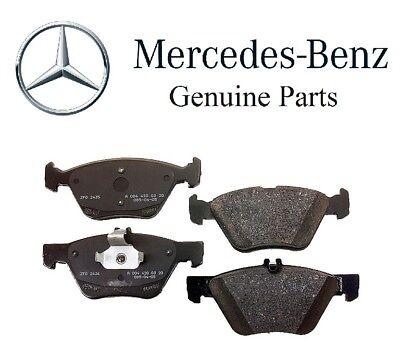 4PCS Front /& Rear Brake Pad Sensor For Mercedes-Benz E430 CLK320 E320 1405401217