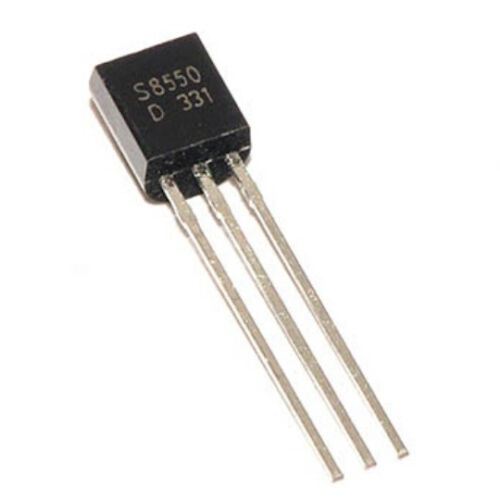 100PCS S8550 S8550D TO92 TRANSISTOR PNP 25V 1.5A TO-92