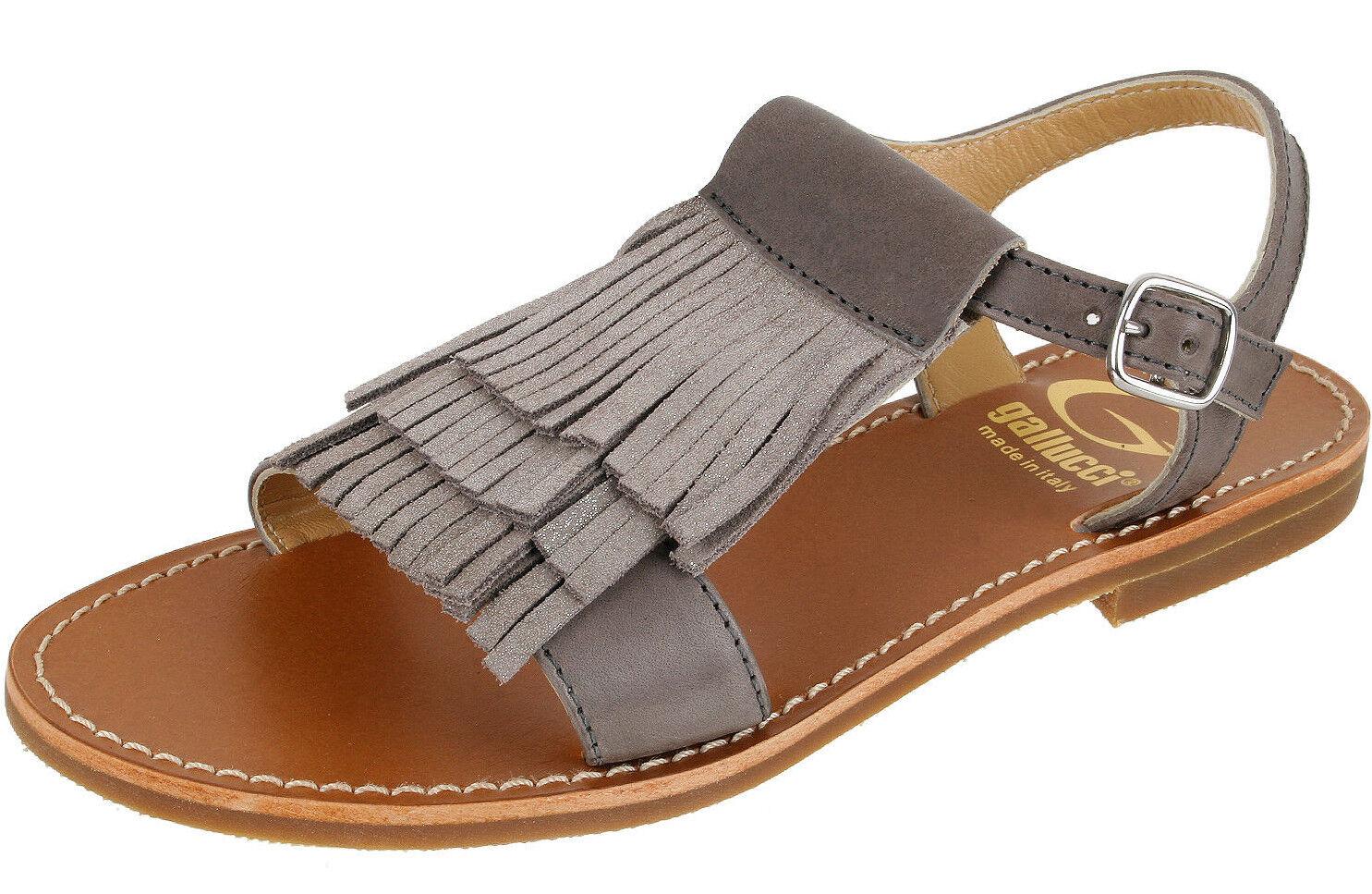 Gallucci J00930AT Girls kvinnor skor Sandaler Sandaler Sandaler Franzen läder Storleks 33, 39 ny  försäljning online rabatt