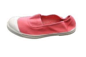 chaussures de séparation 5ab17 3049d Détails sur ballerine tennis bensimon rose foncé