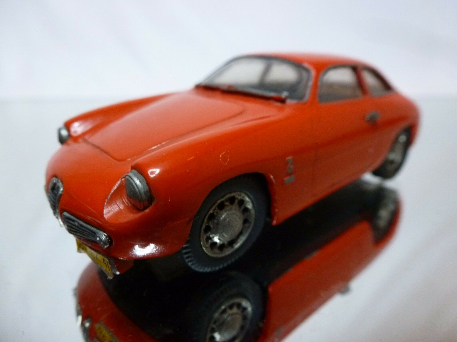 MIKANSUE METAL KIT (built) ALFA ROMEO GIULIETTA SPRINT ZAGATO - RED 1 43 - GOOD