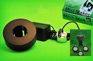 1-head-ULTRASONIC-MIST-MAKER-and-float-TEFLON-discs-NUTRAMIST-fogger-humidifier