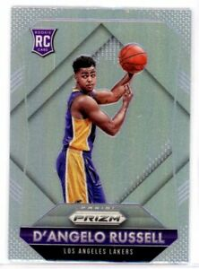 D'ANGELO RUSSELL 2015-16 Panini Prizm SILVER Refractor Rookie Card RC #322