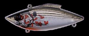 Rat-L-Trap Lipless Crankbait 1//2oz Bleeding Shiner Fishing Lure RT37
