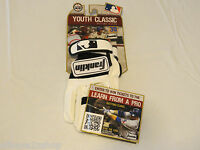 Franklin Youth Classic Batting Gloves Youth Xs 10634fop4 White Black 1121114101