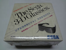 3d Glasses + Zaxxon 3d Special Bundle Master System Sega Japan NEW