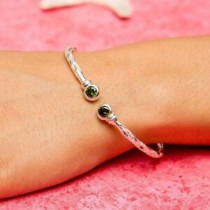 125-West-Indian-Bangle-May-Birthstone-Emerald-Handmade-in-Sterling-Silver