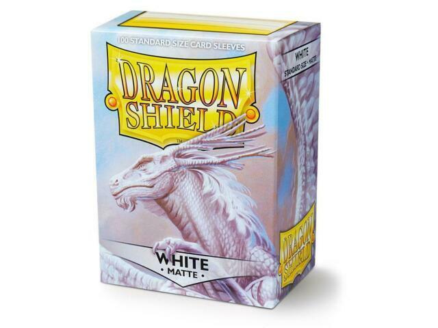 Arcane Tinmen 100 ct SILVE Standard Size Deck Protectors Dragon Shield Sleeves