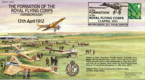 COF 11-1912 Century of Flight - The Formation Of The Royal Flying Corps