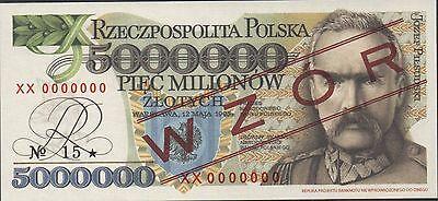 500   ZLOTYCH   1982  Prefix ET P 145d  Uncirculated POLAND