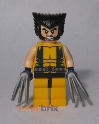 Brown uniform Wolverine Lego Compatible Figure