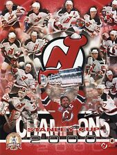 """Set of 2 1999-2000 New Jersey Devils Stanley Championship 8"""" x 10"""" Photos"""