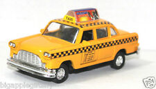 Die cast Classic New York City Old Fashion Yellow Taxi Cab toy model 5 inch size