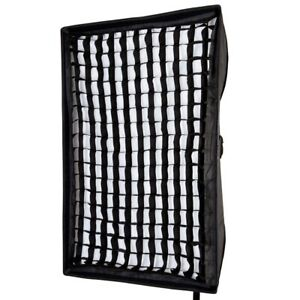 Rectangular-Recessed-Honeycomb-Grid-Portable-Lightweight-Softbox-60x90cm