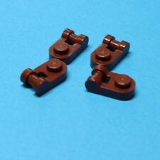 Lego 4x Platte 1x1 mit Griff Schwarz Black Plate Modified Handle 26047 Neuware