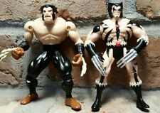 Savage Land Wolverine 1996 X-MEN FLASHBACK vtg Action Figure lot Toybiz marvel 5