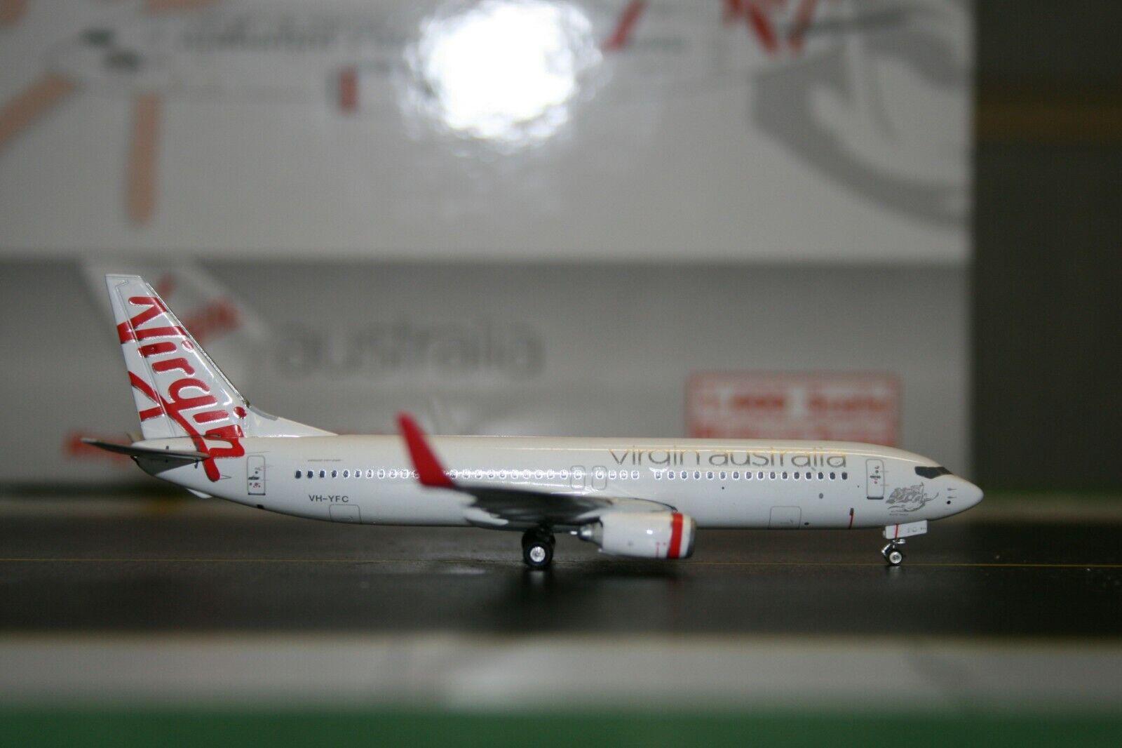 Phoenix 1 400 Virgin Australia Boeing 737-800 VH-YFC (PH10516) Förlaga Plan