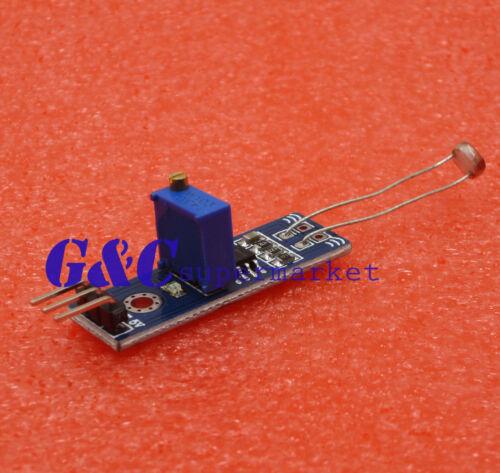 5PCS LM393 Optical Photosensitive light sensor module for Arduino Shield DC 3-5V