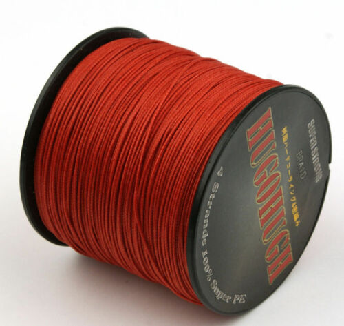 1000M 9 Colors Moss Green 4 Strands Strong 6LB-100LB PEBraided Fishing Lines
