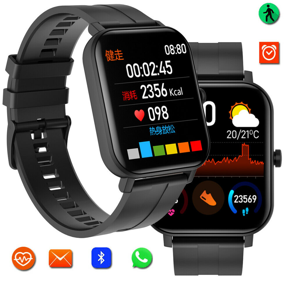 Bluetooth Smart Watch Sports Wrist Watch for iPhone 11 Pro XS Max Samsung S10 S9 bluetooth Featured for iphone max pro samsung smart sports watch wrist