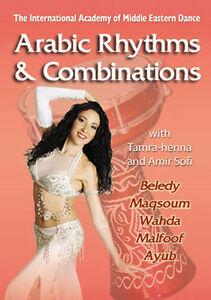 Arabic Rhythms with Tamra-henna How to Belly Dance DVD