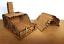 28mm-Fantasy-Tudor-Style-Small-House-T4B-Ruin-2mm-MDF-Laser-Cut-Kit thumbnail 3