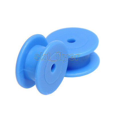 5pcs Small Blue Belt Fixed Pulley 12*4*2mm for DIY Toys Robot Module Car