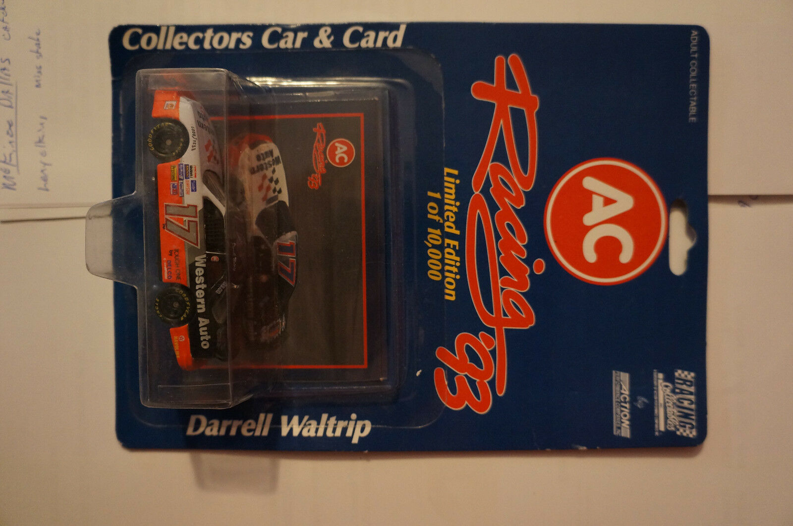 NASCAR collectable die cast car 1 64 scale DARRELL WALTRIP
