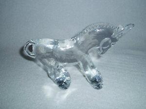 Kosta-Boda-Crystal-Donkey-Figurine-Zoo-Series