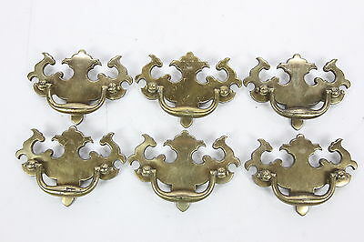 6 Keeler Brass Co KBC Bat wing Pulls with Bail Handle KBC N8650 N08721 3 3/4""