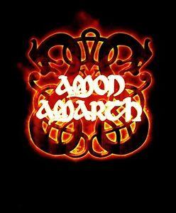 AMON-AMARTH-cd-lgo-FIRE-HORSES-Official-Black-SHIRT-XXL-2X-new