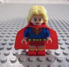 New CUSTOM Lego SUPERGIRL Minifigure, DC, Young Justice, Batman, Superman, Flash
