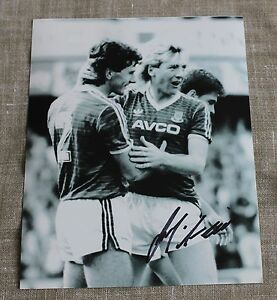 FRANK-McAVENNIE-West-Ham-United-HAND-SIGNED-Autograph-10-034-X-8-034-Photo-COA