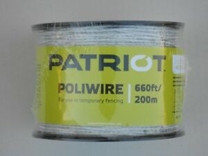 Electric-fence-polywire-Patriot-PoliWire-for-cattle-horse-sheep-goats-etc