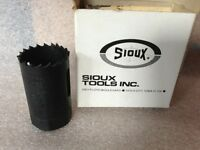 Sioux High Speed Steel 1-1/16 Hole Saw Metal Cutting