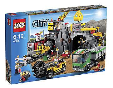 LEGO 4204 City Bergwerk - NEU