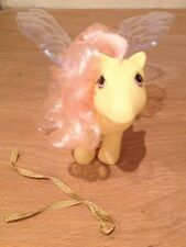 My Little Pony Vintage G1 Flutter Pony Rosedust With Original Wings Very Rare